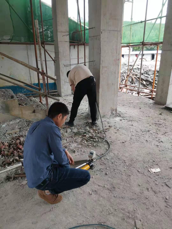 清镇流长乡磅寨小学扩建项目检测